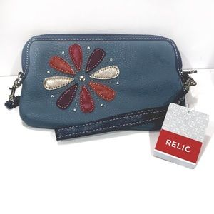 Relic By Fossil - Snowflake Wristlet Crossbody